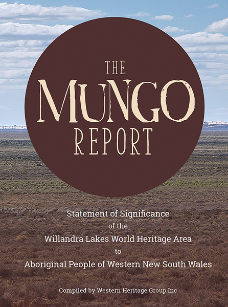 The Mungo Report Title Page Thumbnail